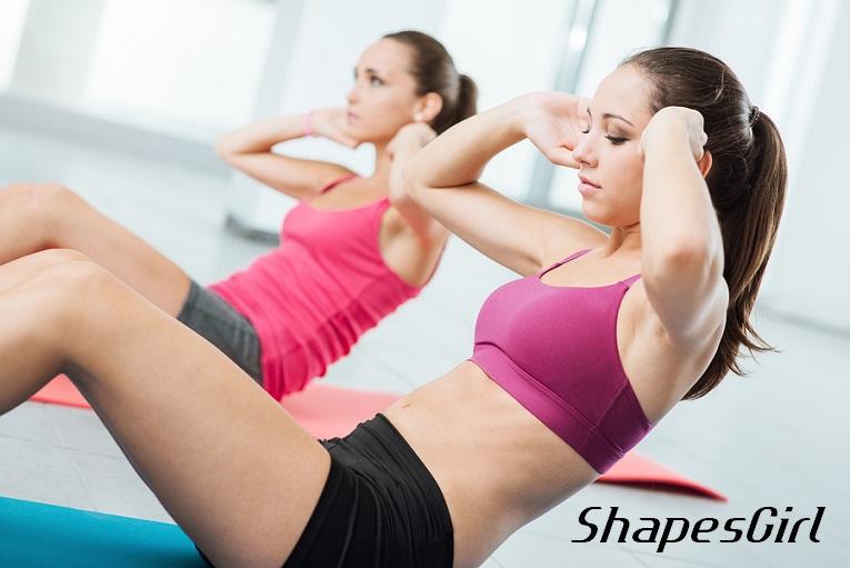 腹筋運動|Shapes シェイプス