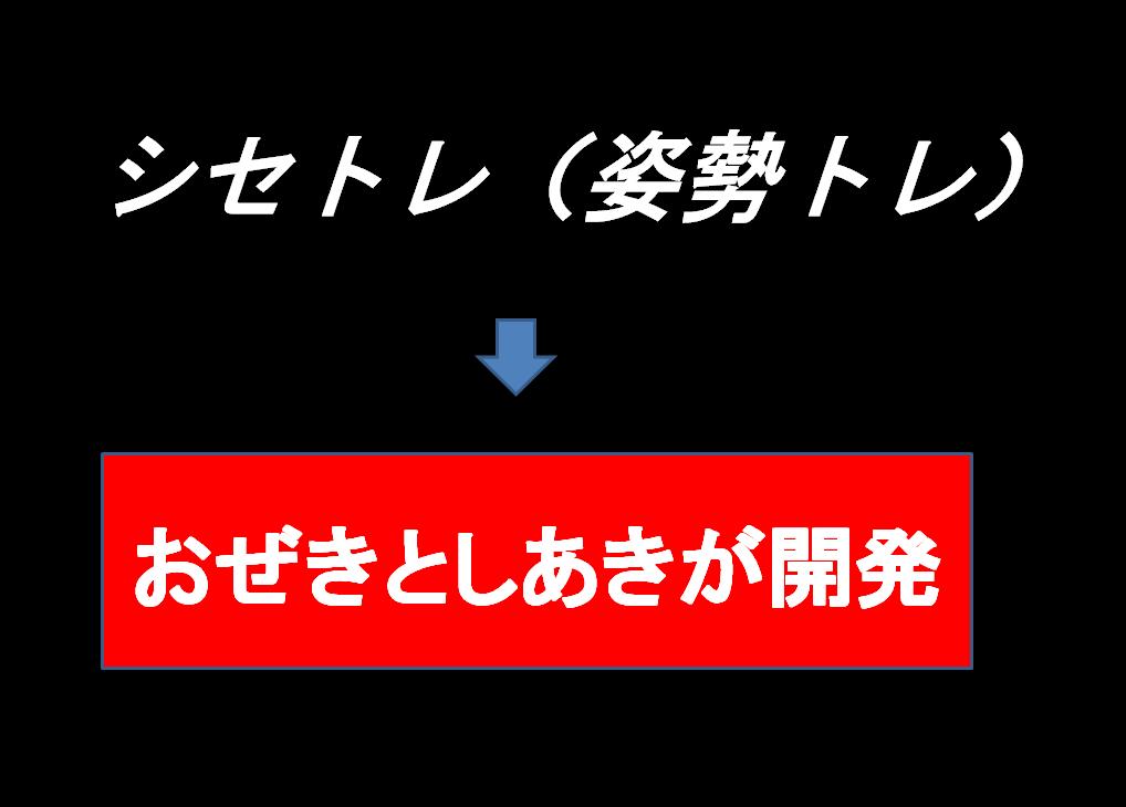 シセトレ(姿勢トレ)は、パーソナルトレーナーおぜきとしあき尾関紀篤が研究開発|シェイプス Shapes